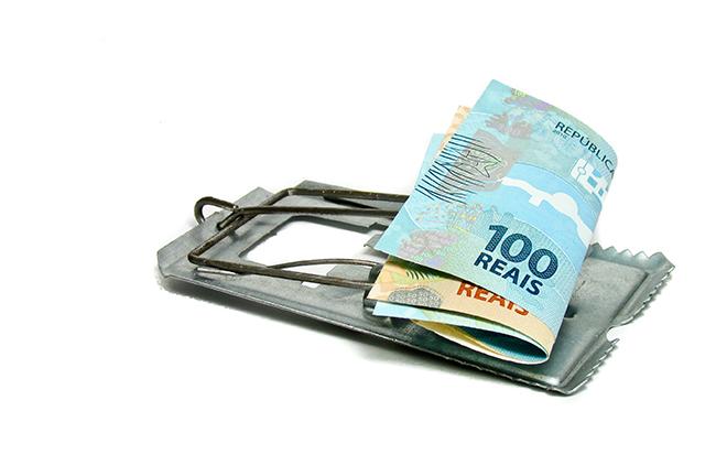dinheiro ratoeira