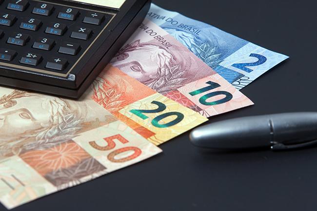dinheiro calculadora