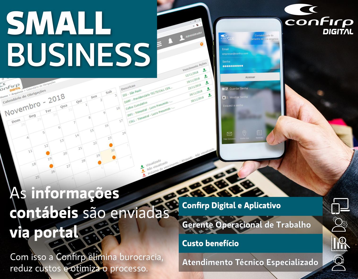 Small Business – Confirp Digital Revoluciona Todos Seus Serviços Contábeis