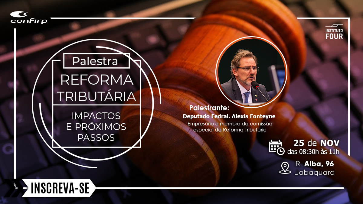 Deputado Alexis Fontayne Realiza Palestra Gratuita Sobre Reforma Tributária